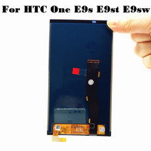 Free shipping 100% Test Original For HTC One E9s E9st E9sw LCD Touch Screen Assembly Black
