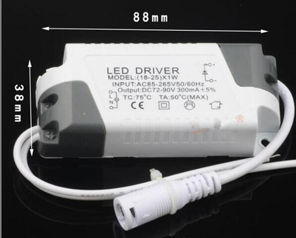 1-3*1w 4-7*1w 8-12*1W 12-18*1w 18-25*1w 25-36*1w Terminal Connector Advanced Plastic Shell LED Driver Power Supply 2Pcs/lot 5 x 1w led driver w gu10 connector base white