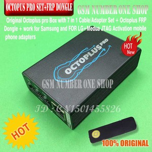 Image 3 - octoplus pro Box 9 in 1 set  ( Activated for Samsung + LG + eMMC / JTAG + Octoplus FRP Dongle + 5 cables )