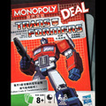 monopoly deal the fast-paced,addictive transformers card game packed full of transformers to win the game collect 3 full sets