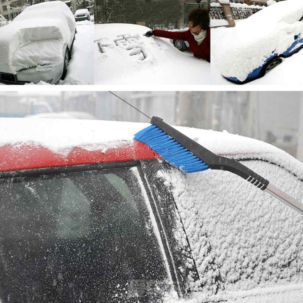New Retractable type snow shovel car snow brushice scraper car snow shovel car snow brush ice scraper retractable rotation