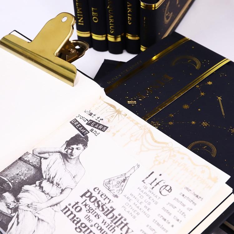 Top SaleSketchbook Paper Diary Blank Hardcover Cool Agenda The Star 160P DIY