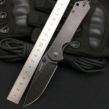 Land 913 складной нож 12C27 Лезвие Открытый кемпинг Выживание карманный нож супер военный кухонный инструмент Топ Qaulity EDC ножи 9104