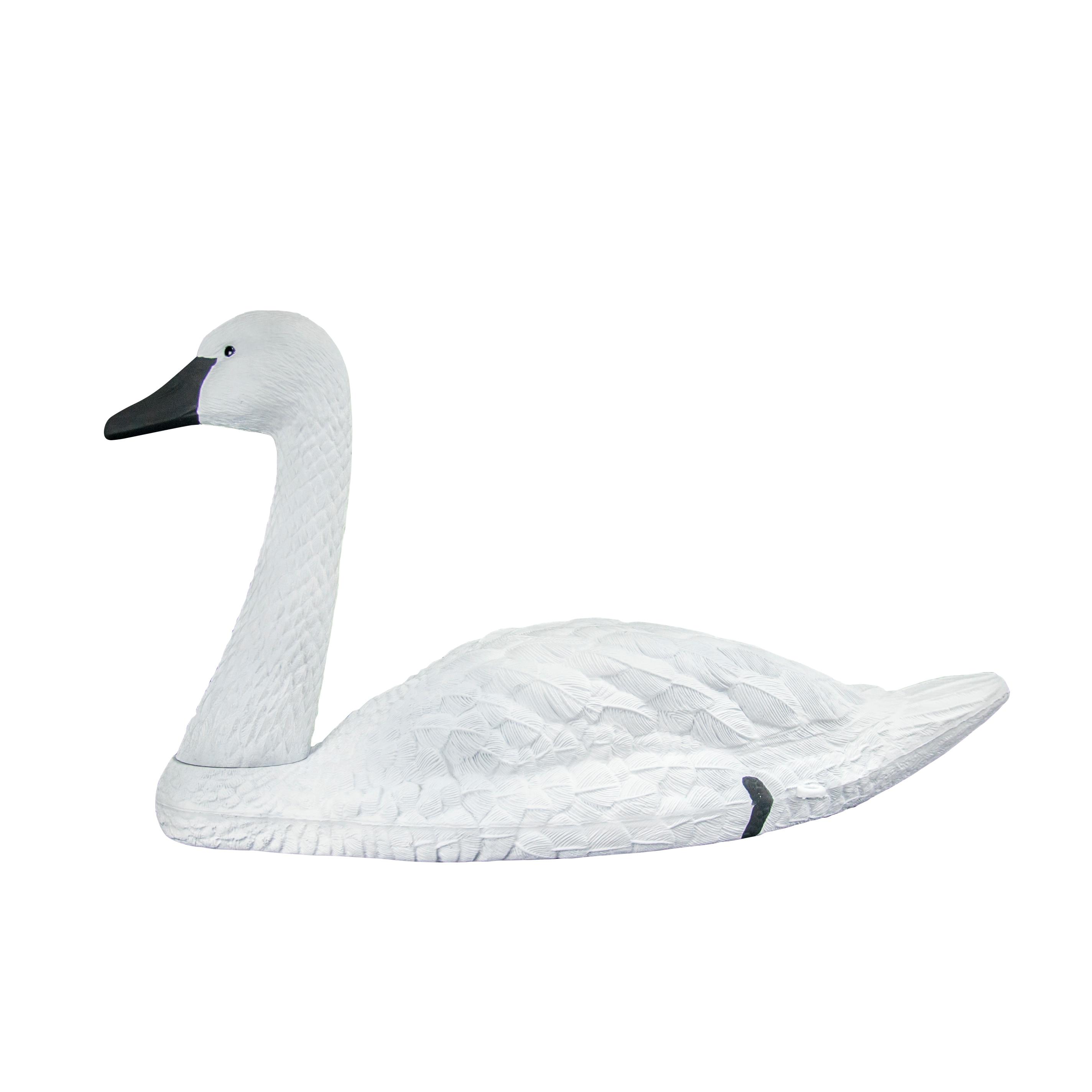 Leurre canard chasse leurres oie leurre grand cygne blanc jardin piscine décoration flottant blanc muet cygne leurre oies