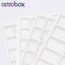Couture & tissu cristal verre strass blanc plastique carré treillis stockage protecteur cristal sécurité stockage Rivoli Drop