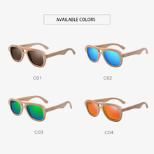 BAMBOO & WOODEN Handmade Polarized  Sunglasses *MEN – WOMEN* Sun Glasses Vintage Mirror