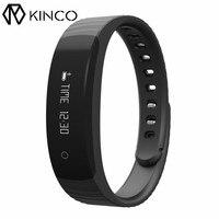 KINCO 3 Kolor Ćwiczenia Ilość Bransoletka Bluetooth4.0 Krok Odległość Licznik Kalorii Spalić anti-stracił Inteligentny Nadgarstek dla IOS/Android