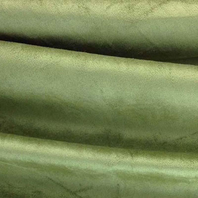 100% Echt Split Blue Suede Koe Lederen Materiaal Blauw voor