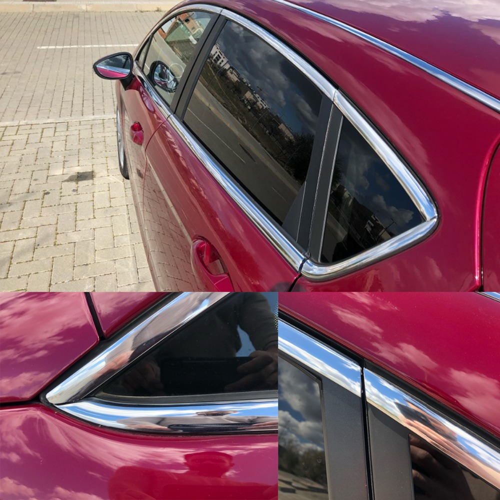 13M Silver Car Chrome Styling Dekoration Gjutning Trim Strip Tape - Reservdelar och bildelar - Foto 6