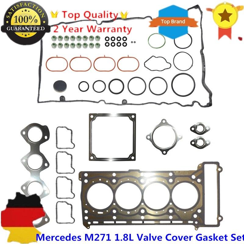 Головка клапана крышка Комплект прокладок для MERCEDES W203 C230 W204 W211 1.8L M271 M 271 двигателя