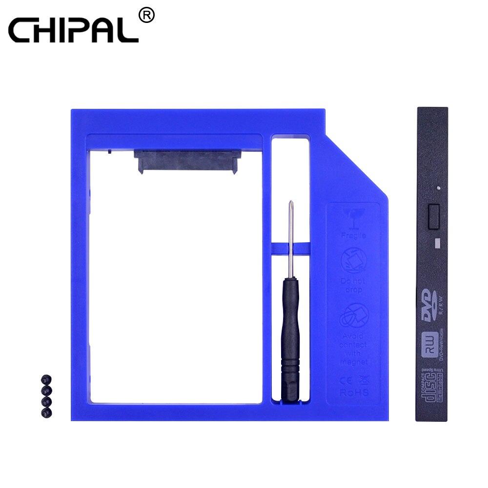 Computer & Büro Aktiv Chipal Universal Sata Zu Sata 2nd Hdd Caddy 12,7mm Für 2,5 2 Tb Hd Box Ssd Fall Gehäuse Adapter Für Laptop Cd-rom Optibay