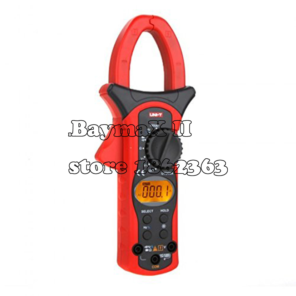 UNI-T UT205A Auto Range LCD Backlight 1000A Digital Clamp Meters w/ Frequency & Duty Cycle Test professional uni t 2000a auto range data hold lcd backlight digital clamp meters multitester ut220 megohmmeter
