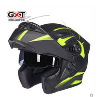 New Arrive GXT Flip Up Motorcycle Helmet Double Lense Full Face Helmet Casco Racing Capacete DOT