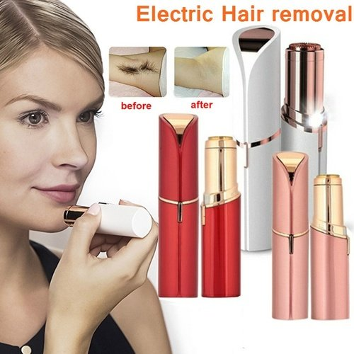 USB Rechargable lady Epilator for facial hair Removal perfect face epilator Lipstick Electric Hair Removal For women drop ship