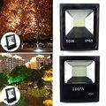 50 Вт 100 Вт Светодиодный прожектор наружный прожектор настенный светильник отражатель IP65 Водонепроницаемый Сад ландшафтное освещение