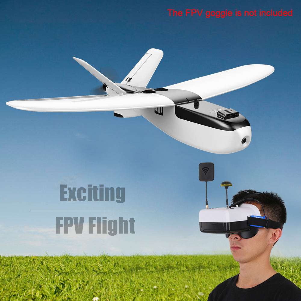 цена на ZOHD Nano for Talon 860mm Wingspan AIO HD V-Tail EPP FPV RC Airplane PNP With Gyro Fixed Wing Flying Aircraft RC Toys for kids