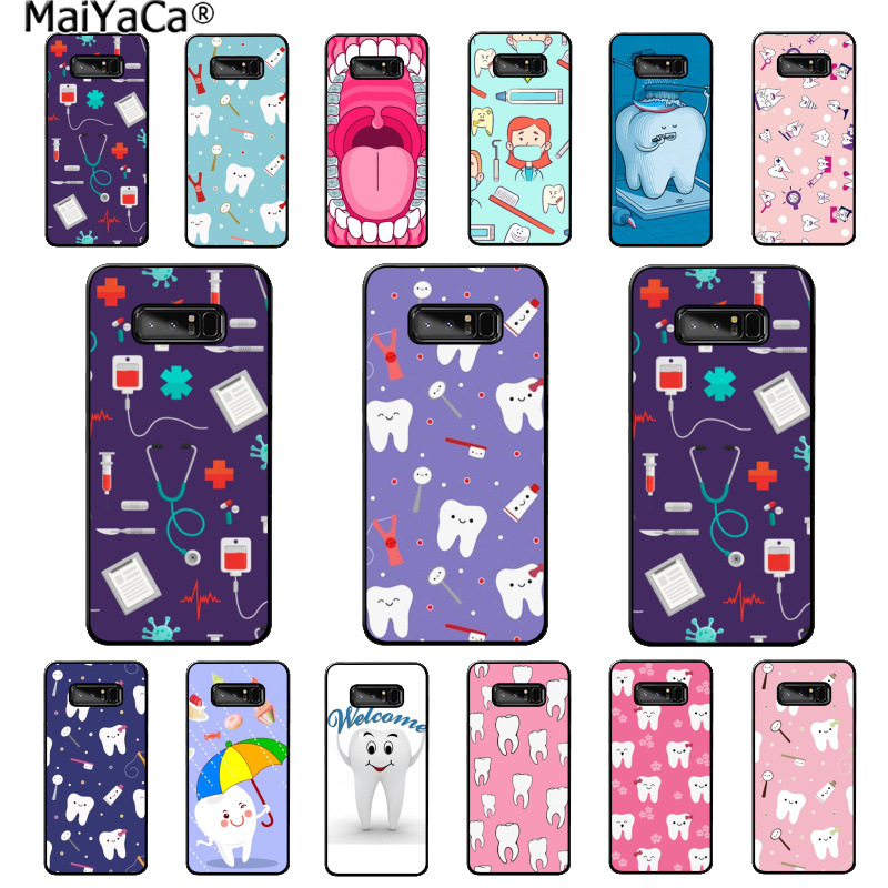 Cellphones & Telecommunications Sporting Maiyaca Nurse Doctor Dentist Stethoscope Tooth Fundas Phone Case For Samsung Note 3 4 5 7 8 9 Huawei P9 Lite Mate 20 X Pro