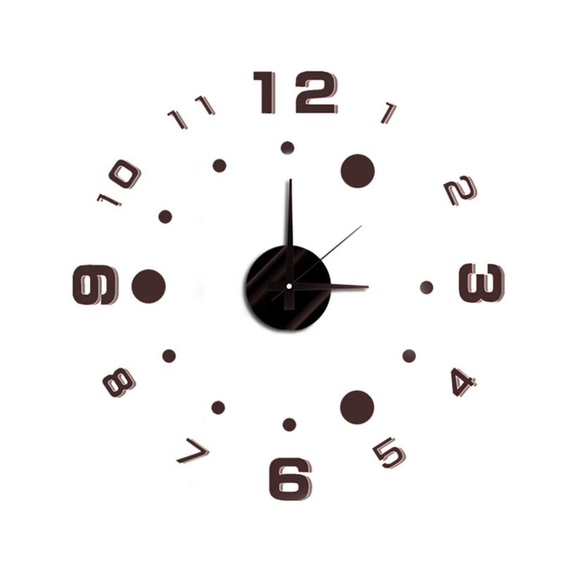 Doprava zdarma DIY Moderní módní kreativní nástěnné hodiny - Dekorace interiéru