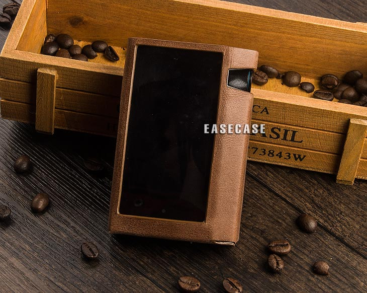 A6 Custom-Made Genuine Leather case for Astell&Kern iriver AK70 MKII image