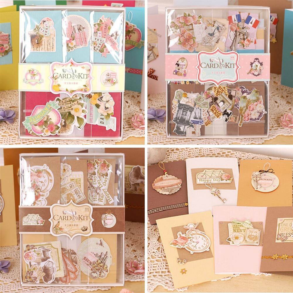 Buy DIY Vintage Cards Kit SetCreative