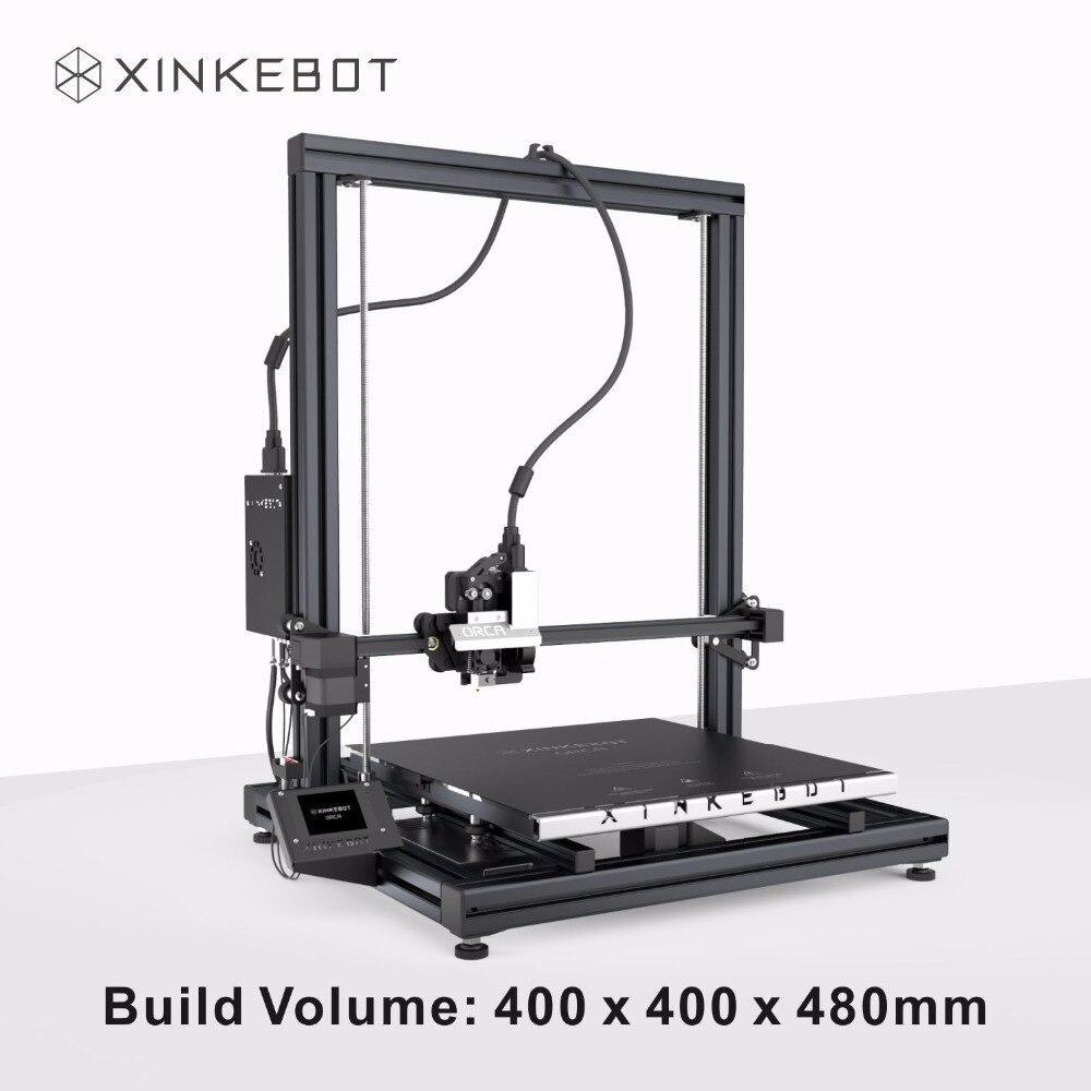 Big Size XINKEBOT Orca2 Cygnus 3D Printer 400x400x500mm Build Volume High Precision I3 Structure DIY 3D