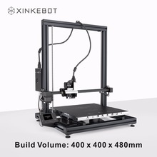 Большой Размеры xinkebot Orca2 cygnus 3D принтера 400x400x500 мм построить объем высокая точность I3 Структура DIY 3D принтера