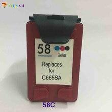 For HP 58 Ink cartridge for hp DeskJet 3620 3620v 3650 3650v 3653 3658 F380 F388 F390 PSC 1350 1350v 1350xi 1355 ink hp58