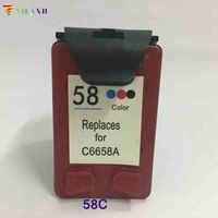 Vilaxh compatible con reemplazo de cartucho de tinta para hp 58 para DeskJet serie 3620, 3620v 3650, 3653 de 3658 F380 F388 F390 PSC 1350 1350xi 1355