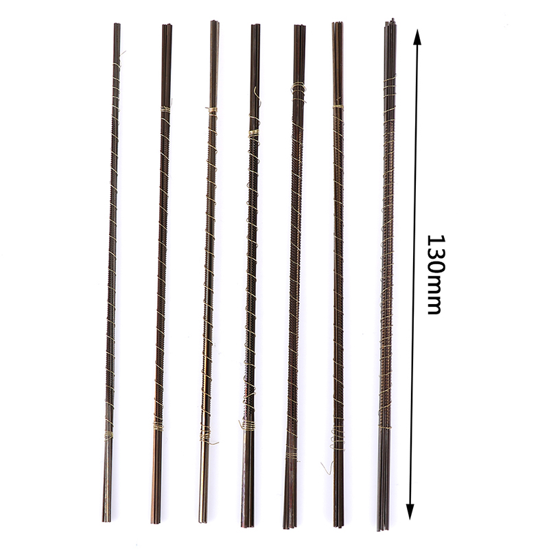 12pcs Mini Diamond Wire Saw Blade Cutter Jewelry Metal Cutting Jig Blades Woodworking Hand Craft Tools Scroll Spiral Teeth 130mm