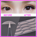 New World's Most Invisible Double Eyelid Tape Breathable Lace double eyelid sticker Shaper 24PCS ( 1 Sheet )