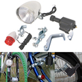 Моторизованный велосипедный фрикционный генератор Динамо  головной задний светильник высокого качества