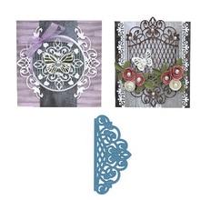 цена на Eastshape Metal Cutting Dies Scrapbooking for Lace Card Making DIY 1Pcs/lot Embossing Cuts New Craft Pattern Grid Decoration