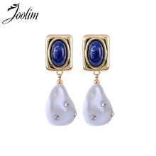 1dee5887f2 Buy navy blue pearl earrings and get free shipping on AliExpress.com