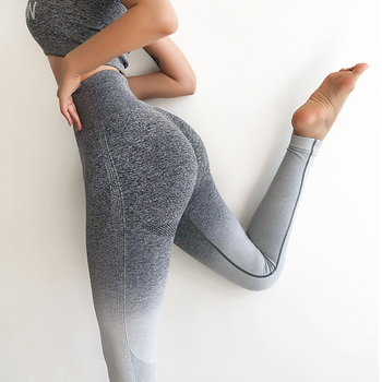 Salspor ombre seamless yoga pants