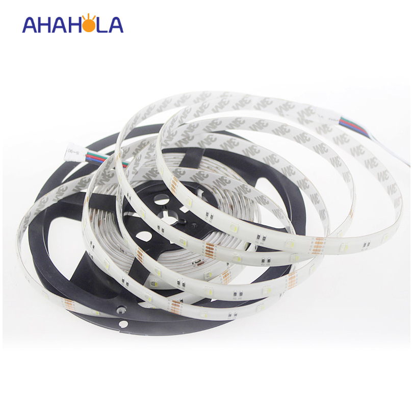 ФОТО dc 12v 4  in 1 5050 rgbw led strip waterproof ip20 ip65 ip67 flexible strip 30/60led/m 5m/roll