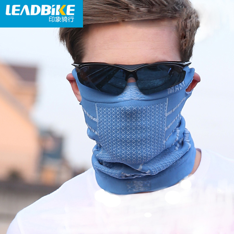 Leadbike New Anti Cold Mask Warm Winter Ski Portable Bike Bicycle Cycling Sports Half Face Neck Mask With Ear Hole For Men/Women warm winter cycling protective mask men s and women s whol