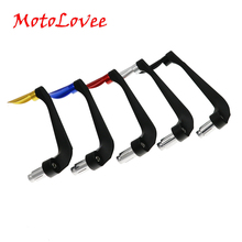 MotoLovee 22mm Universal Motorcycle Hand Guards Protector Motocross Dirt bike Handguards Handlebar Aluminum Handbar Stand