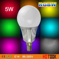 Mi Light 2 4G 5W E14 LED Bulb Light RGBW Color Dimmable WIFI Bulb Lamp 86