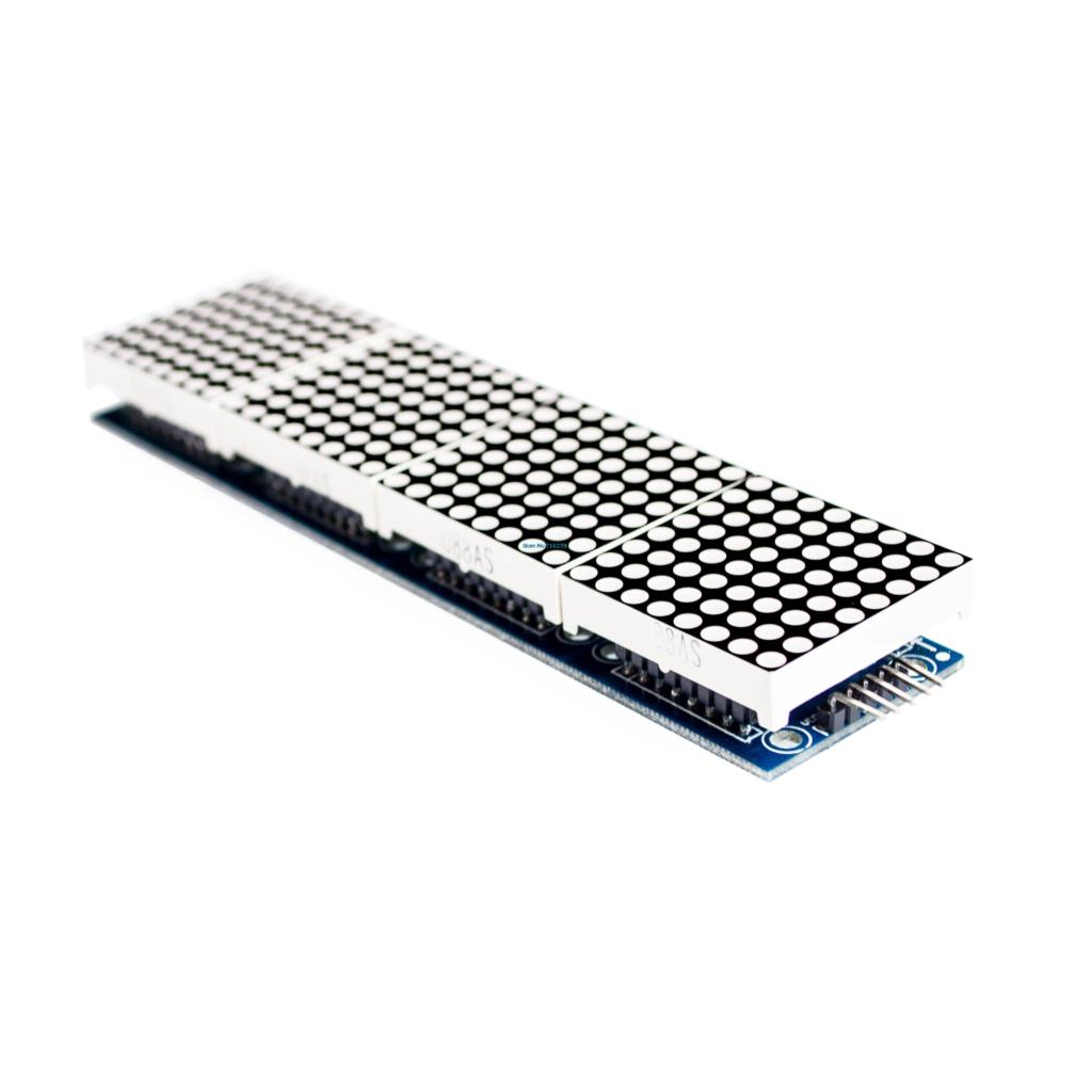 Dot Matrix Module MAX7219 Microcontroller Display Accessories