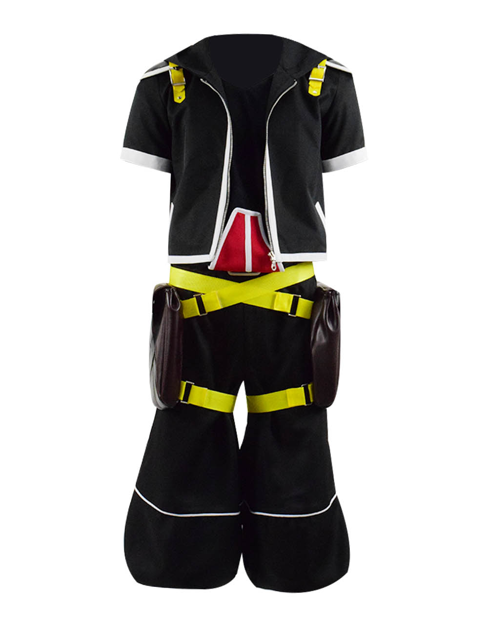 Kingdom Hearts Iii Protagonist Sora Cosplay Costume Outfit Uniform Full Set For Carnival Show