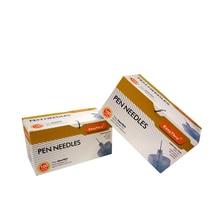 Office School Supplies - School  - EasyThru 200pcs 30G*8mm Insulin Pen Needle Diabetic Blood Glucose Insulin Injection Needle Medical Teaching CE SIO13485