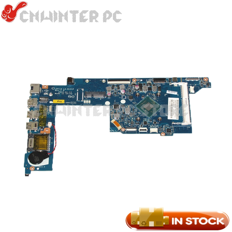 NOKOTION 764236-501 764236-001 For Hp pavilion 11-n x360 series Laptop Motherboard ZPT10 LA-B151P with CPU Onboard DDR3L nokotion 814611 001 818074 001 for hp 15 af series laptop motherboard abl51 la c781p cpu onboard mainboard full test
