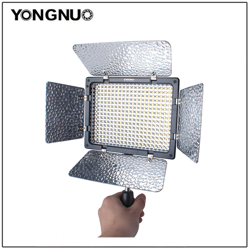 Yongnuo YN300 II Pro LED Video Light Camera Camcorder Color temperature controlled for Canon Nikon YN-300 ll Photographic Light yongnuo yn300 air 3200k 5500k yn 300 air pro led camera video light with np f550 battery and charger for canon nikon