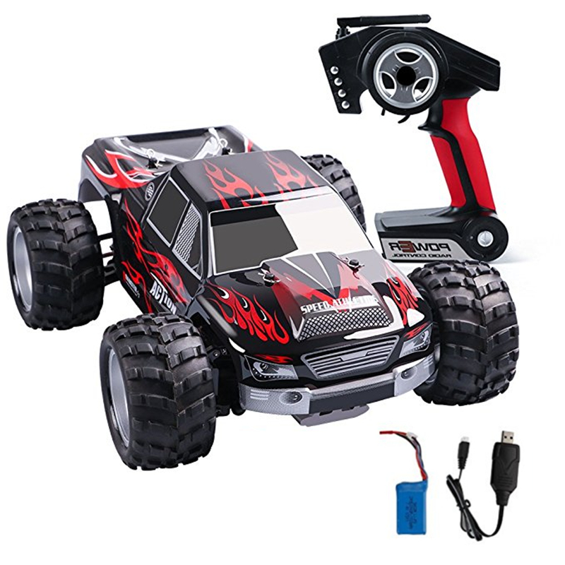 RC Car 4wd WLtoys Electric RC Car Road Remote Control Car with 1:18 Scale RC Monster Truck 2.4Ghz 4WD High Speed Racing Car wltoys l959 2 4g 1 12 off road scale remote control rc racing motor car