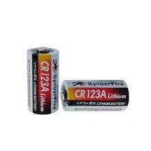 2шт 3V литий-ионная батарея 1300mAh CR123A CR123 CR 123A CR17345 DL123A неаккумуляторные батареи для камеры воды газовый счетчик