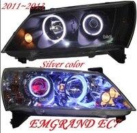 RHD LHD Geely Emgrand EC7 фар, 2011 ~ 2013, автомобильные аксессуары, Emgrand EC7 туман, EC8, Emgrand EC7 спереди лампа