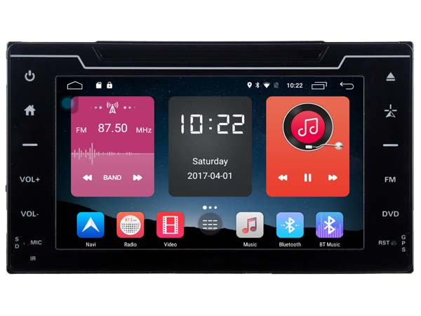 4G lite 2GB ram Android 6.0 quad core car dvd player stereo autoradio gps DVR tape recorder for toyota corolla 2017 head units
