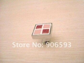 24 piezas lote envío gratis vino rojo mosaico porcelana decorativo cajón perillas