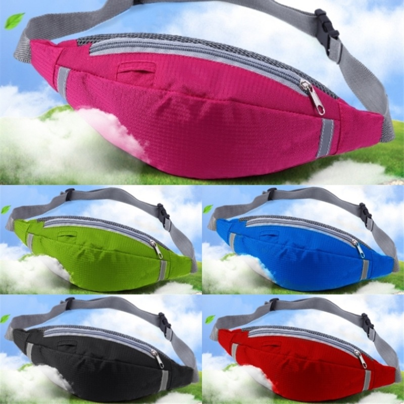 Cycling Bag 5 Color Fit for Phone and Wallet Free Your Hand Waist Bag Outdoor Sports