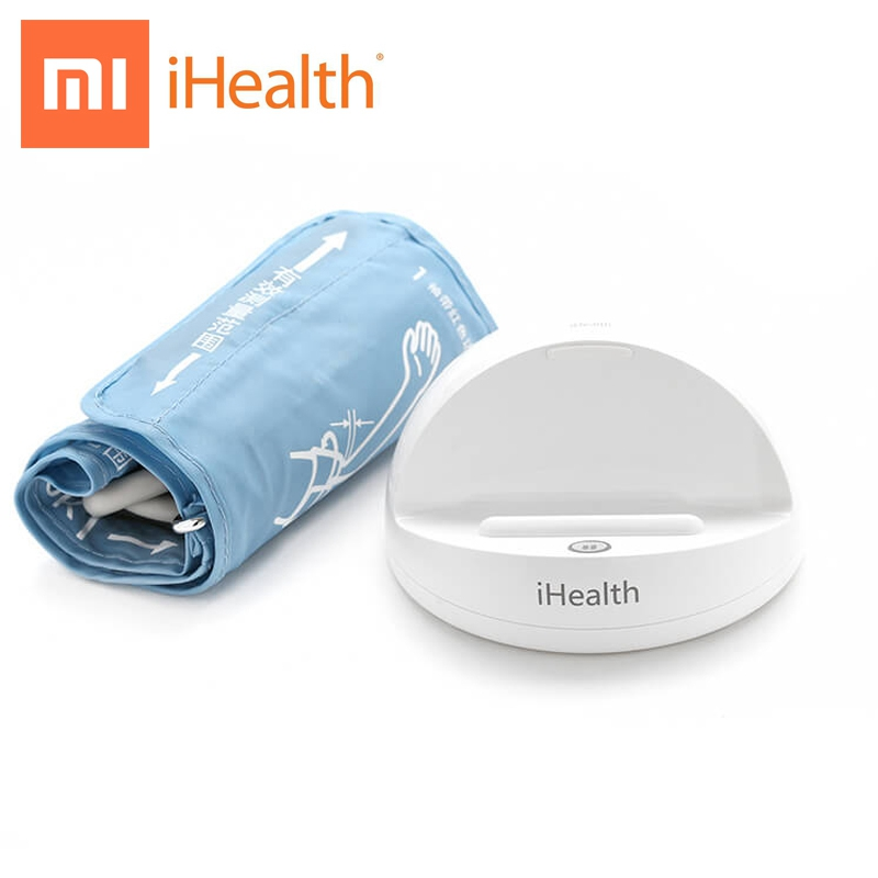 Parent Gift Xiaomi iHealth Smart Blood Pressure Meter Bluetooth Blood Pressure Monitor Smart Home for Android iPhone APP Control